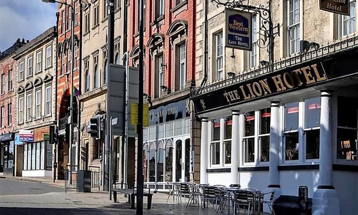 Best Western The Lion Hotel Worksop Nottinghamshire Groupon