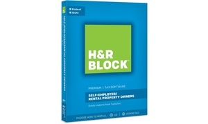 H&R Block Tax Software Premium + State 2017