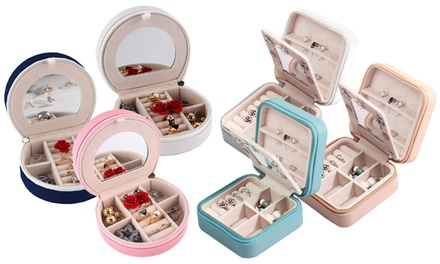 Watches, Parts & Accessories Brave Box Watch Display Storage Slots Fashion Case Organizer Jewelry Leather Glass Top Delicious In Taste