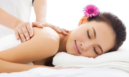 Massage: 1Hr $35 or 2 Ppl $69, or $55 Person to Add 30Min Foot Massage at Evergreen Thai Massage