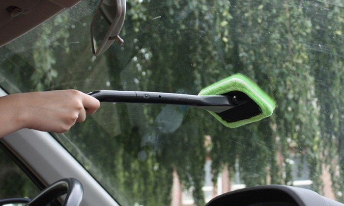 how to clean the interior windshield