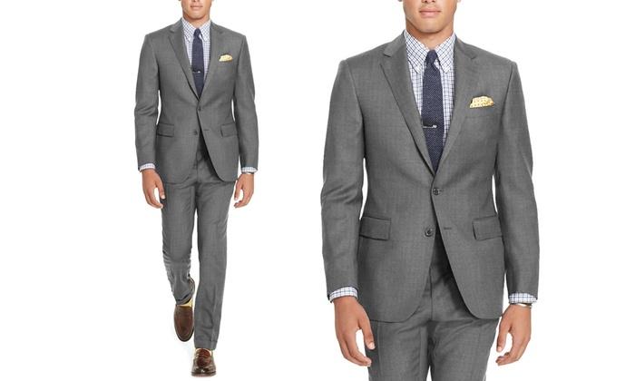 Renoir Men's 2-Piece Slim-Fit Suits (Size 42Lx36W)