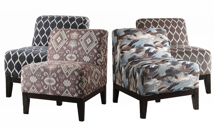 Acme Hinte Slipper Chair Groupon Goods