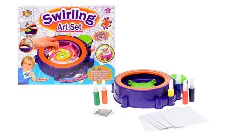Swirling Paint Art Station Set