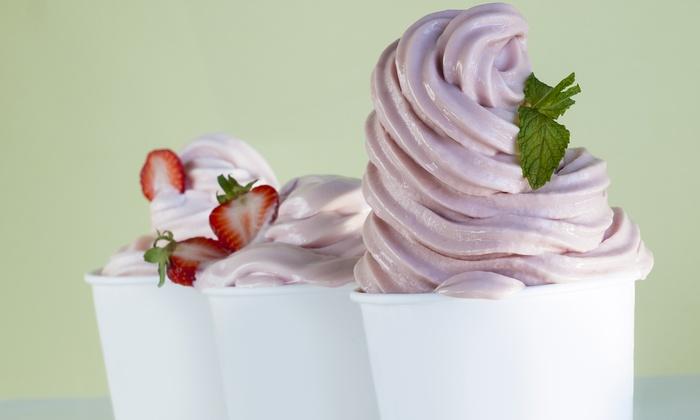 2 Bubbles - Elmhurst: $12 for Four Groupons: Each Good for $5 Value Towards Frozen Yogurt at 2 Bubbles ($20 value)