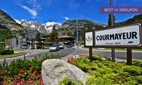 Courmayeur : 1, 2, 3, 5 ou 7 nuits à lhôtel Mont Blanc 4* avec pdj, accès au sauna et boisson de bienvenue pour 2