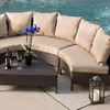 Venice Outdoor Wicker Sectional Sofa (5-Piece)