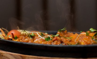 image for Up to £60 Toward Indian Cuisine at ERIKI @ Crowne Plaza Hotel (50% Off)