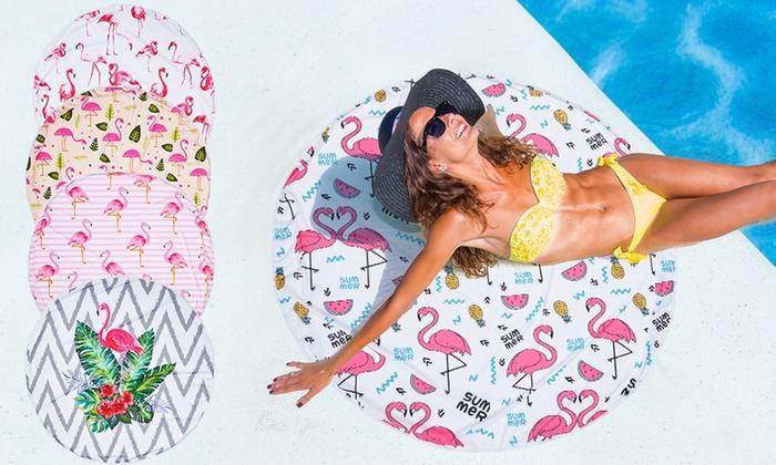 Toallas de playa redonda groupon goods - Toallas redondas de playa ...