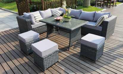 Groupon Papaver Rattan Sofa Sets