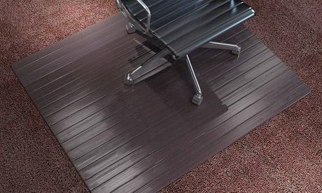 Alfombra de protección del suelo para sillas 100% en bambú
