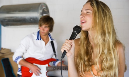 4, 8, or 12 Private Music Lesson Packages for Kids and Teens at Let There Be Rock School (Up to 60% Off)