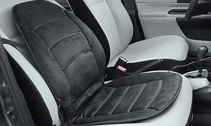 Deluxe Velour Heated Car Seat Cushion
