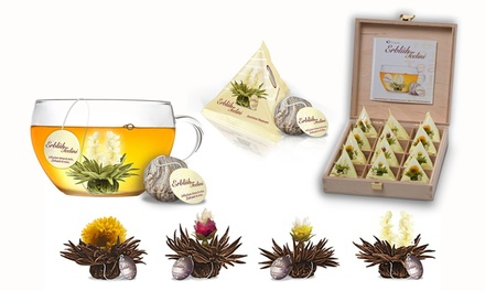 Choice of Seven Flowering Tea Gift Sets