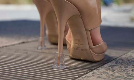 One, Three or Ten Pairs of Pro11 Wellbeing Heel Protectors for Women's Shoes