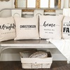 Up to 83% Off Personalized Farmhouse-Style Throw Pillow Cover