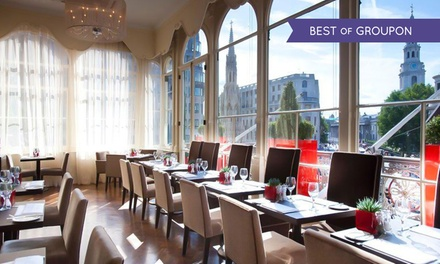 Afternoon Tea with Sparkling Wine for Two at Amba London (Up to 35% Off)
