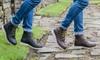 Boots style bûcheron en cuir Redfoot