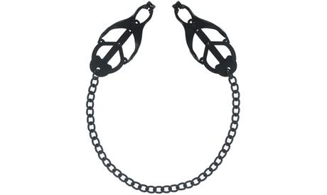 Noir Clover-Style Nipple Clamps 756f0038-10bc-11e7-8c64-00259069d7cc