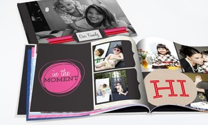 """One 8""""x8"""", 8""""x11"""", Or 12""""x12"""" Custom Hardcover Photo Book From York Photo (up To 71% Off)"""