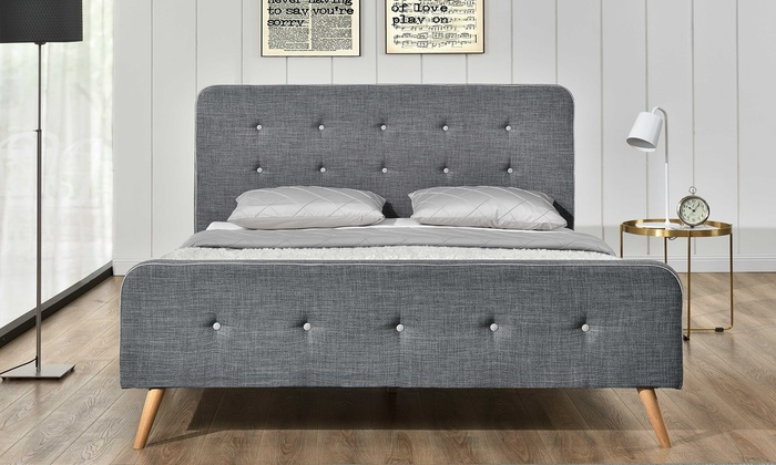 lit scandinave avec matelas en option groupon shopping. Black Bedroom Furniture Sets. Home Design Ideas