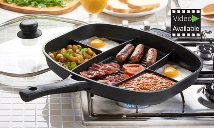 Cooks Professional Non-Stick Split-Section Frying Pan from £29.99 (Up to 67% Off)
