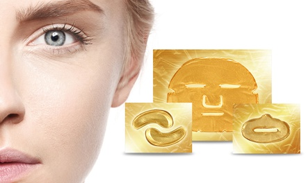 Gold Collagen Face, Eye and Lip Masks