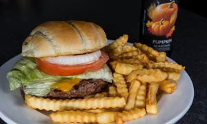 Legends Bar & Grill: Classic Bar Food and New American Cuisine at Legends Bar & Grill (Up to 42% Off). Two Options Available.
