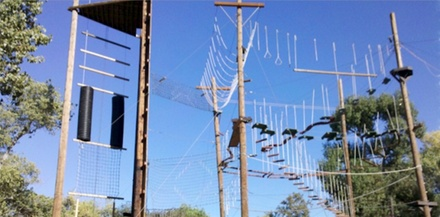 Ropes Course for One or Up to 18 People at Orange County Ropes Course (Up to 34% Off)