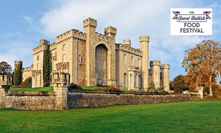 Great British Food Festival: OneDay Entry for Two Adults, Bodelwyddan Castle and Park, 30 June 1 July