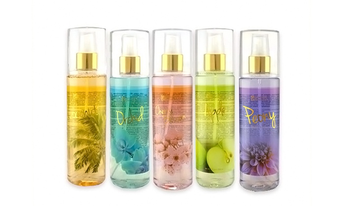 Bath and Body Mist Set (5-Piece)