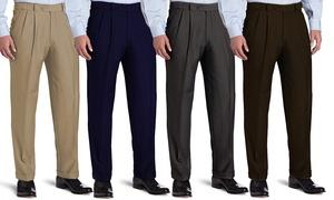 Big & Tall Bonelli Men's Classic-Fit Pleated Dress Pants at Big & Tall Bonelli Men's Classic-Fit Pleated Dress Pants, plus 6.0% Cash Back from Ebates.