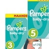 179 Pampers Baby Dry Taille 2 à 6