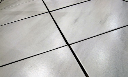 $185 for Up to 700 Total Square Feet of Tile and Grout Cleaning from Aladdin Home Care ($570 Value)