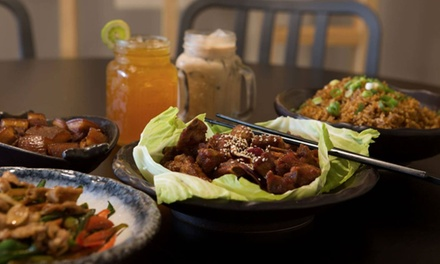 $20 for $40 or $25 for $50 to Spend on Chinese Food and Drinks for Two People at Chilli Panda