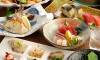 【 50%OFF 】グルーポン初登場。10年以上の実績を誇る、地元で人気の創作居酒屋 ≪ お造り盛り、名物さば寿司、本日の肉料理など全9...