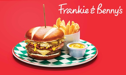 TwoCourse A La Carte Meal for Two at Frankie & Benny's, Nationwide