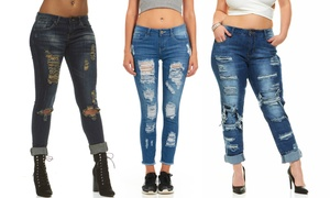 Cover Girl Women's Jeans. Plus Sizes Available.