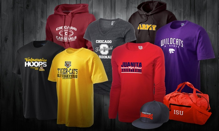 Prep Sportswear: Fan Apparel from Prep Sportswear (Up to 53% Off). Three Options Available.
