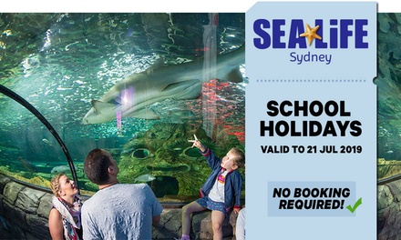 SEA LIFE Sydney: Child Aged 315 $29.70 or Adult $41.40 Entry, Darling Harbour