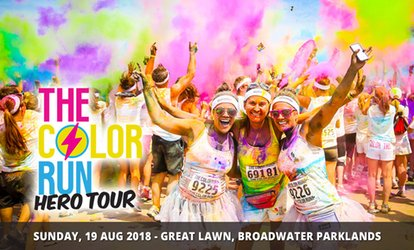 The Color Run™ Hero Tour - Entry From $49, 19 August, Broadwater Parklands
