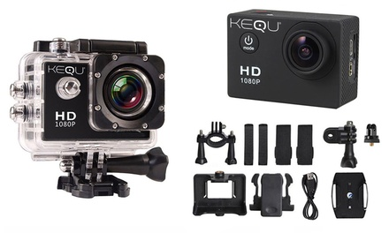 Water-Resistant HD Action Camera