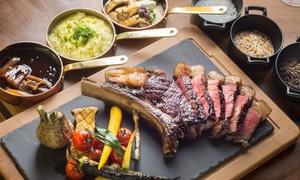 BEEF GRILL CLUB BY HASIR: Je 200 g Wagyu-Entrecôte-Steak inkl. Beilagen für 2 oder 4 Personen im Beef Grill Club by Hasir (bis zu 50% sparen*)