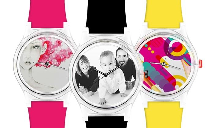 WISH A WATCH: Wertgutschein über 39,90 € anrechenbar auf eine personalisierte Uhr bei WISH A WATCH