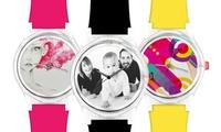 Wertgutschein über 39,90 € anrechenbar auf eine personalisierte Uhr bei WISH A WATCH