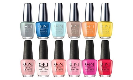 SixPiece O.P.I. Nail Polish Set