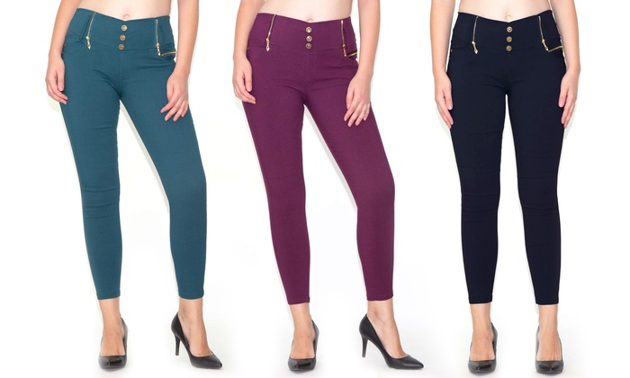 e6d889946a4 Up To 23% Off on Women s High-Waist Jeggings