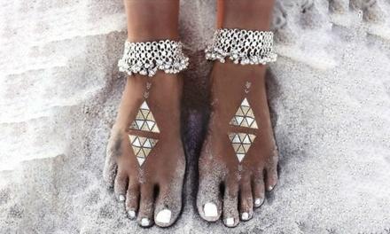 Aztec Anklet