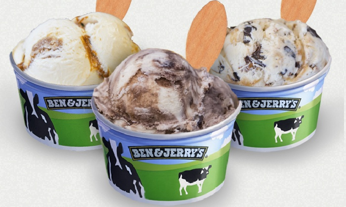 Ben & Jerry's - Pearl: Six Ice-Cream Cups or Cones, or Year of Take-Home Pints from Ben & Jerry's (Up to 49% Off)