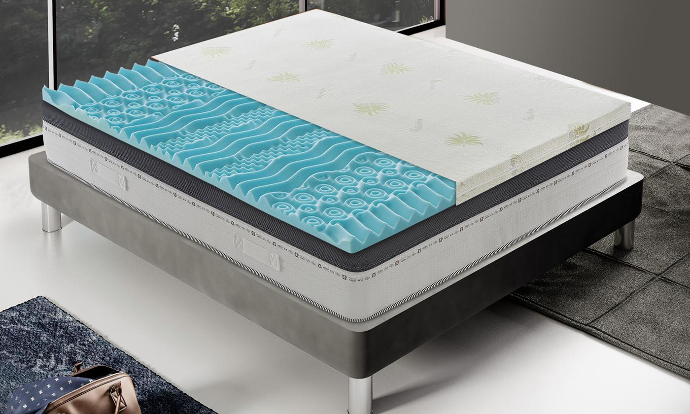 Memory Foam Mattress Topper With Free Delivery